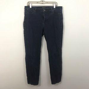 Talbots flawless five pocket jeans slim ankle